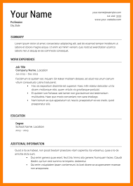How Should A Resume Look Like What Does A Resume Look Like Good Resume Format