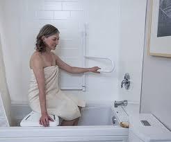 dependabar being used in bathtub