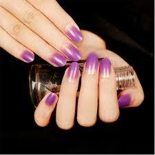 Aliexpress.com : Buy 24pcs/Set Elegant Gradient Bride Nail Art ...