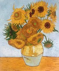 vincent van gogh sunflower collage sunflower collage