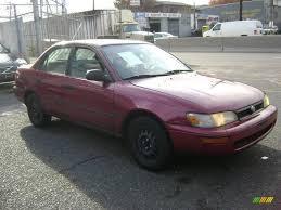 1993 Red Pearl Toyota Corolla DX #20663937 Photo #4 | GTCarLot.com ...