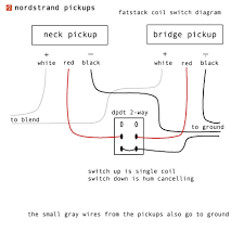 schematics nordstrand pickupsnordstrand pickups here s a diagram for switching the stacks to single coil mode