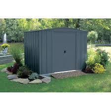 apex steel garden shed 8Χ6 arrow