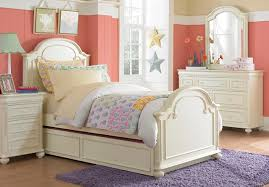 Charming LC Kids Charlotte Arched Panel Bedroom Set