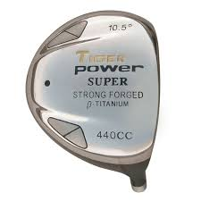 Tiger Power Super 440 Titanium Driver Head - Monark Golf