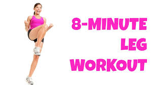 8 minute legs at home lower body workout no equipment thigh exercises all levels you