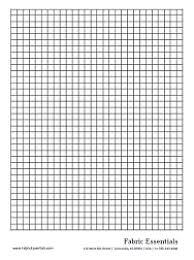 Fabric Essentials Graph Paper