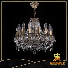 modern atmospheric transpa brass crystal chandelier 1707 14 125 cfp