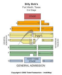 Billy Bobs Fort Worth Seating Chart Billy Bobs Seating Chart