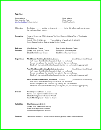Resume Examples Proper Format Template How To A Most Current Way