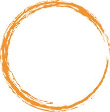 Free illustration Orange Round Circle Paint Brush Free