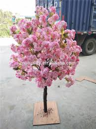 Fake Cherry Blossom Tree With Lights Romantic Decoration Artificial Wedding Tree Indoor Cherry Blossom Tree For Table Decoration Buy Fake Cherry Blossom Trees Cherry Blossom