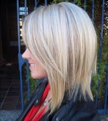Shoulder Length Haircut With Deep Side