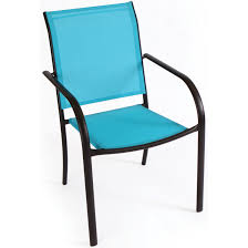 blue st croix sling stack chair at mills fleet farm stackable sling back patio chairs