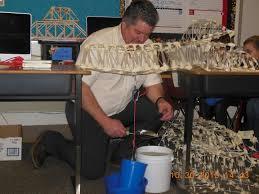 bristol engineer helps students build straw bridges bristol newsroom