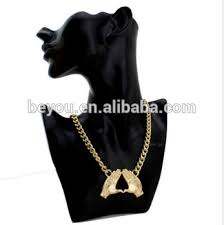 whole delta sigma theta dst necklace hip hop hand pendant necklace choker jewelry palm necklace