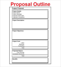 Doc File Project Proposal Template Free Project Proposal Sample