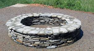 Stacked Stone Fire Pit patio ideas walkway wall mason ncsc masonry contractor 5961 by xevi.us