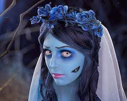 corpse bride costume and makeup corpse bride photoshoot via emorfes the year of