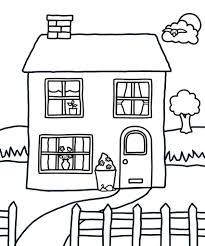 Great for adults or children. House Coloring Pages Coloring Rocks