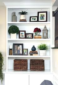 wall shelf decorating ideas living room bookshelf decorating ideas best decorate bookshelves on organizing photos wall