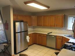 oak cabinets how much does it cost to paint cabinets