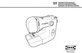Ikea Sewing Machine Manual