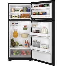 Ge Appliance Customer Service 800 Gear 155 Cu Ft Top Freezer Refrigerator Gts16dthbb Ge Appliances