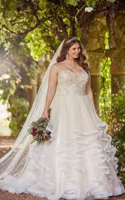 ball gown for plus size princess ball gown plus size wedding dress with sweetheart bodice