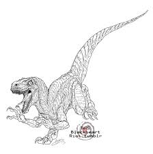 Small Picture velociraptor coloring pages free Archives Best Coloring Page