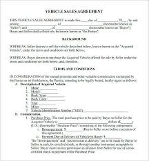 Car Sale Agreement Word Doc Car Sold As Is Form Beautiful Car