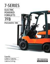 series electric ac pneumatic toyota industrial equipment pdf 7 series electric ac pneumatic 1 12 pages