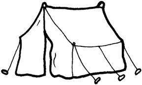 Small Picture Tent coloring page Free Printable Coloring Pages