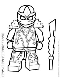 Small Picture Cool Lego Ninjago Kai KX Coloring Page H M Coloring Pages