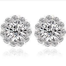 cubic zirconia earrings gift