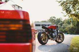 honda cb600f cafe racer inspired by a ferrari full size