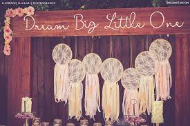 Dream Catcher Baby Shower Decorations A Dream Catcher Themed Welcome Baby Party Time100Partay 41