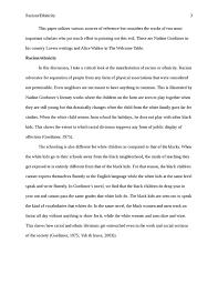 racism literature essay   studentshare racism literature essay essay example college
