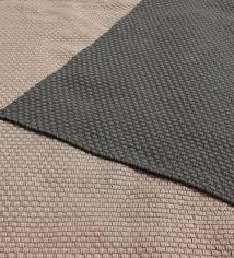 handwoven recycled plastic indoor outdoor rug 8 x 10