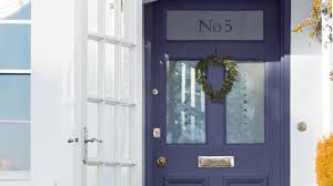 painted wooden front door brightens the entrance to your home use colour to refresh worn woodwork dulux