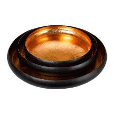 Decorative Metal Tray Buy Pols Potten Lotus Leaf Decorative Tray Set Of 3 Amara
