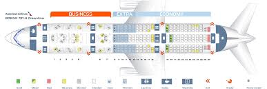 Boeing 787 8 Dreamliner Seating Chart Seat Map Boeing 787 8 American Airlines Best Seats In The Plane