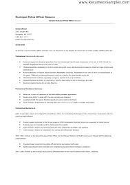police officer resume example police officer resume example police officer  resume examples no experience