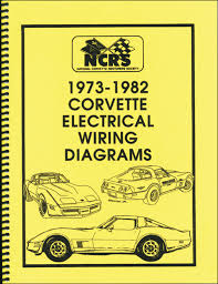 corvette wiring diagram image wiring diagram corvette 1973 82 electrical wiring diagrams 16 95 national on 1973 corvette wiring diagram
