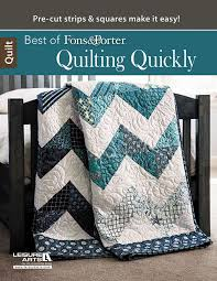 quilting quickly best of fons porter book quilting book