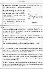Контрольная работа Механические колебания и волны  hello html 21c46916 png hello html m1f1863f5 png