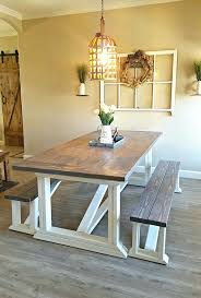 interesting kitchen trend for diy farmhouse table kitchen table with regard to farmhouse kitchen table with bench