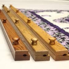 wooden quilt hanger family farm
