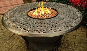 round gas firepit fire pit table inspirational living parts uk