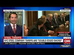 NYC Steel Company CEO: Tariffs are 'double-edged sword' - YouTube